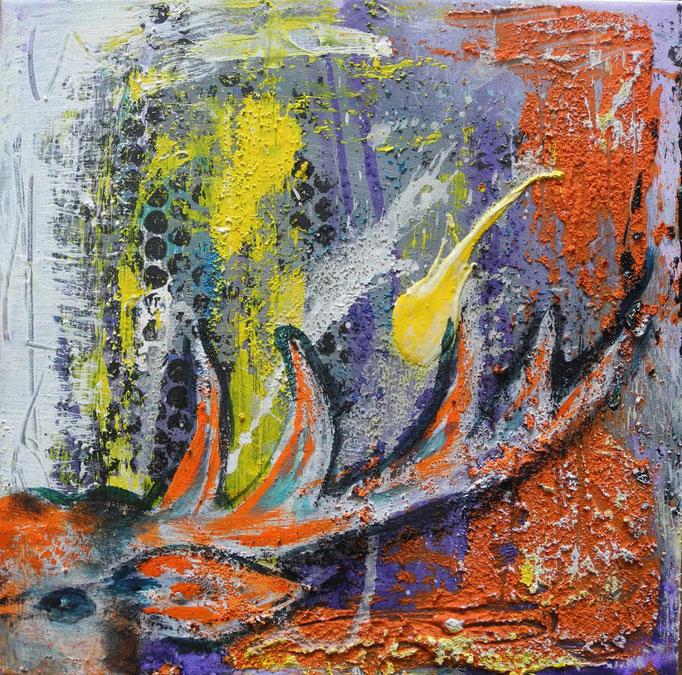 Trilogie2, 2014 30 x 30 cm