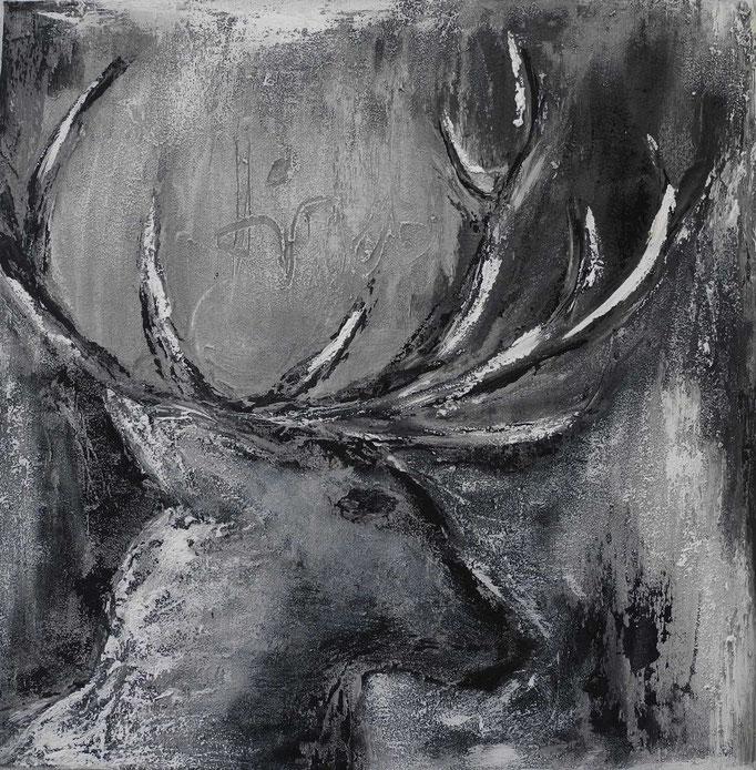 black & white, 2014 60 x 60 cm