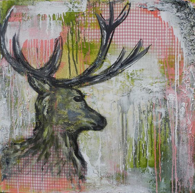Paul, 2014 100 x 100 cm