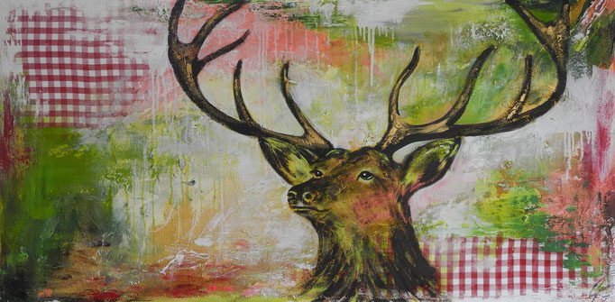 Friedrich, 2015 80 x 160 cm (verkauft)