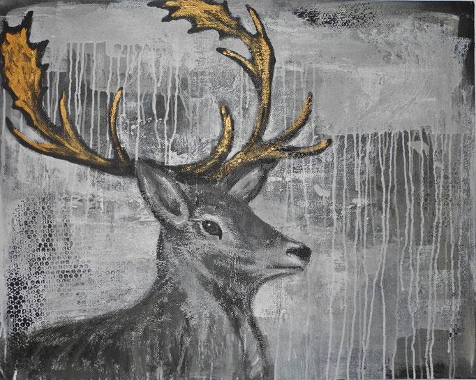 Heinrich, 2014 100 x 80 cm (verkauft)