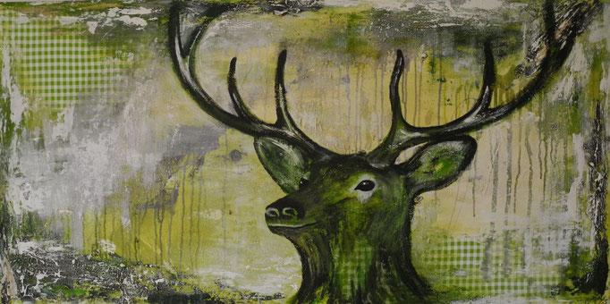 Hubertus, 2015 80 x 160 cm