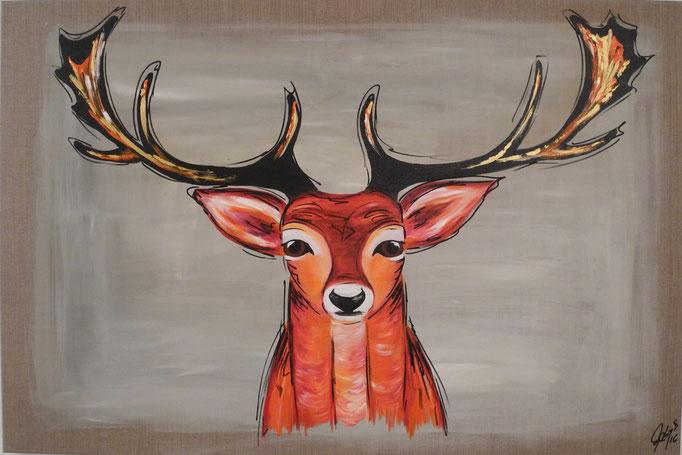 Fridolin, 2016 80 x 120 cm