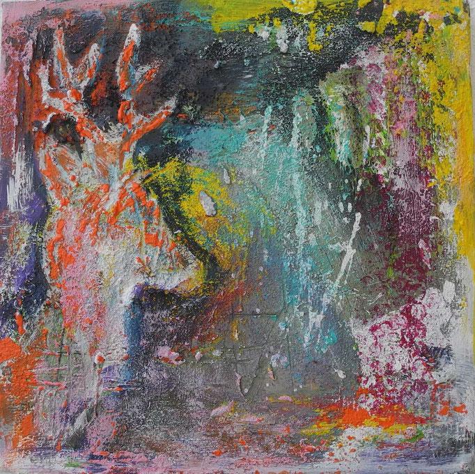 Trilogie3, 2014 30 x 30 cm