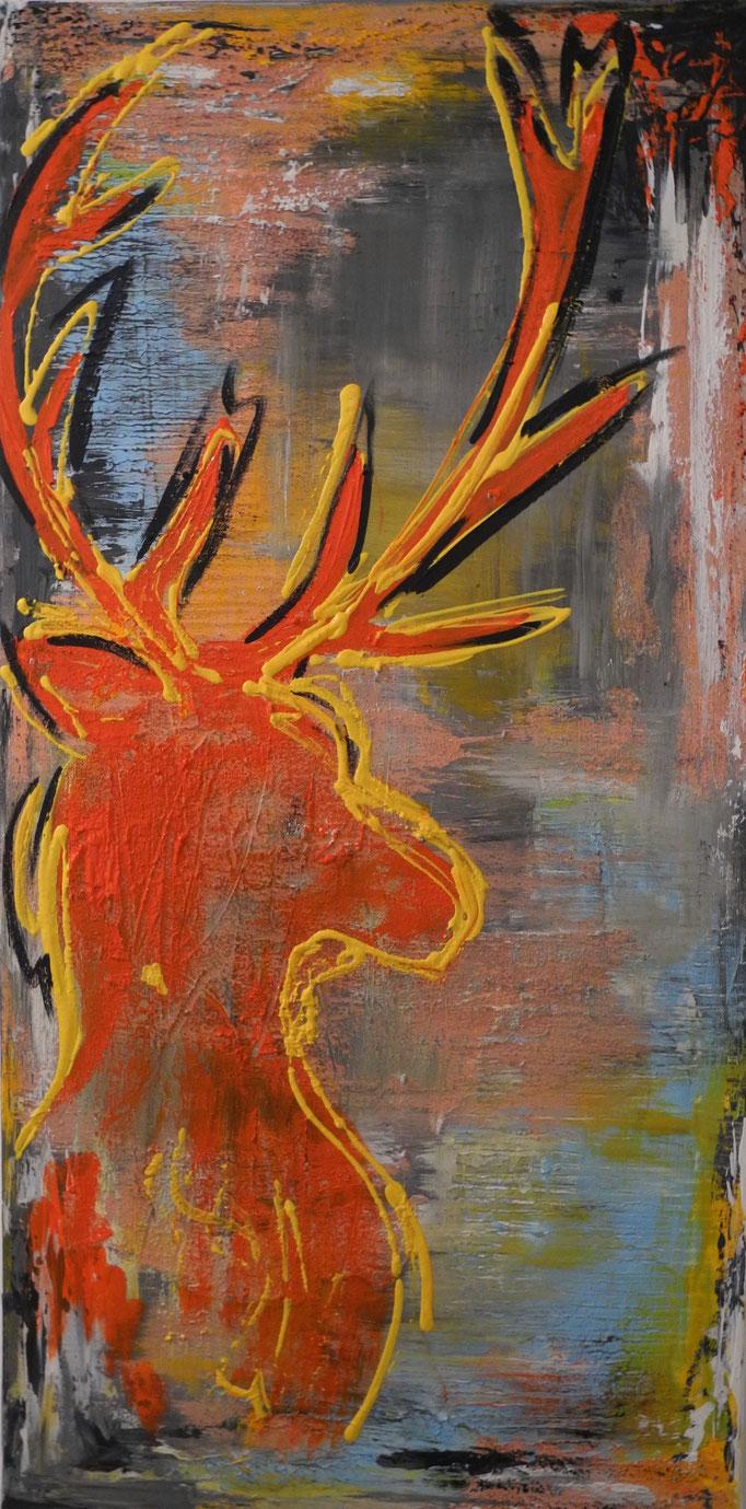 Heini, 2016 100 x 50 cm