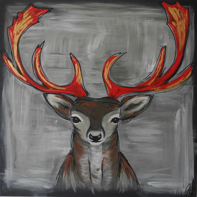 Guido, 2016 100 x 100 cm