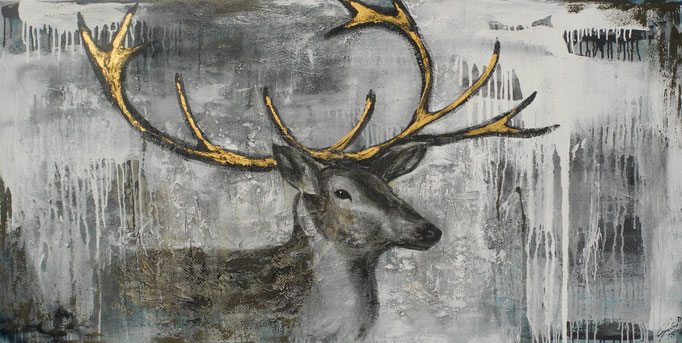Paulus, 2014 100 x 200 cm (verkauft)