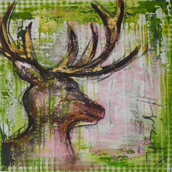 Kar(l)o, 2014 60 x 60 cm (verkauft)