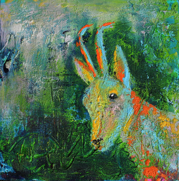 Gemse, 2013 30 x 30 cm