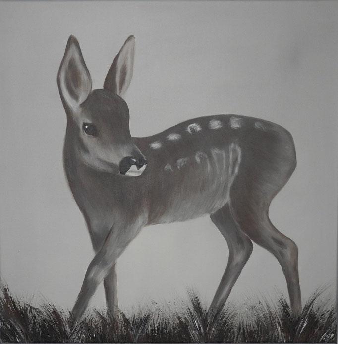 Bambi, 2014 60 x 60 cm (verkauft)