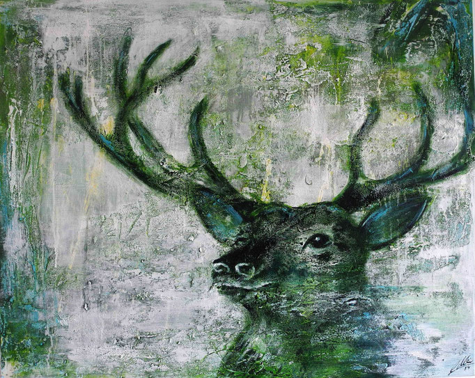 Prachtkerl, 2014 80 x 100 cm (verkauft)