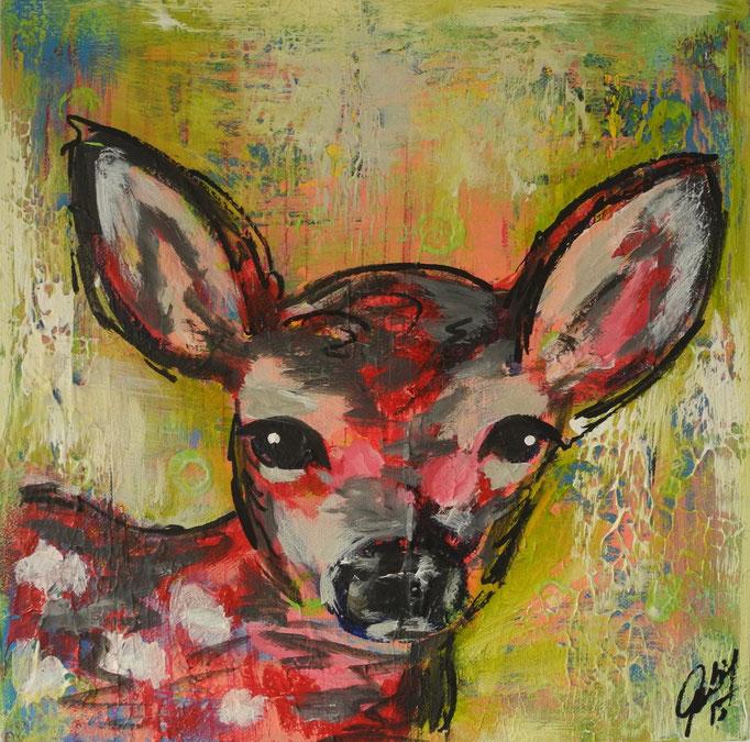 Julia, 2014 30 x 30 cm (verkauft)