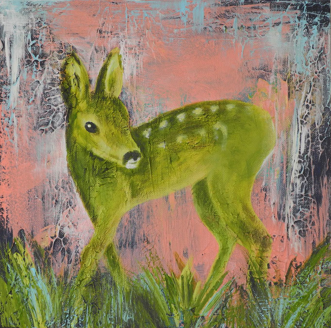 Bambi, 2014 30 x 30 cm  (verkauft)