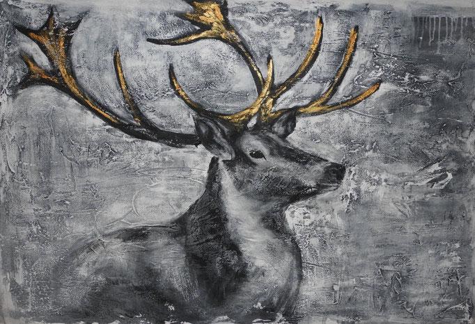 Charles, 2014 100 x 150 cm (verkauft)