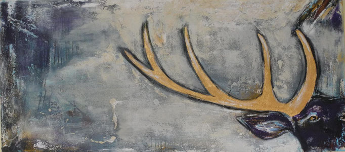 Heimatgefühl, 2013 70 x 150 cm (verkauft)