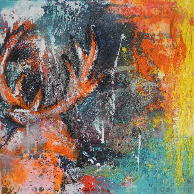 Trilogie1, 2014 30 x 30 cm