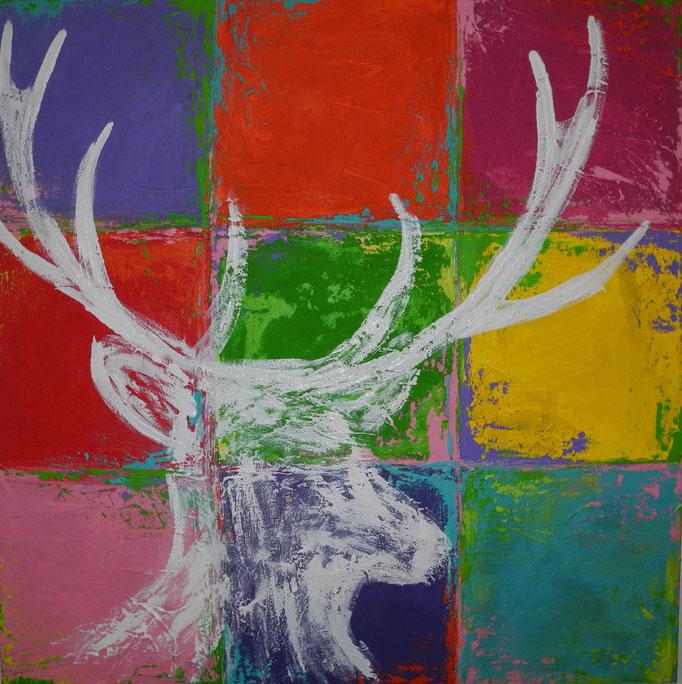 Karl Karo, 2015 90 x 90 cm (verkauft)
