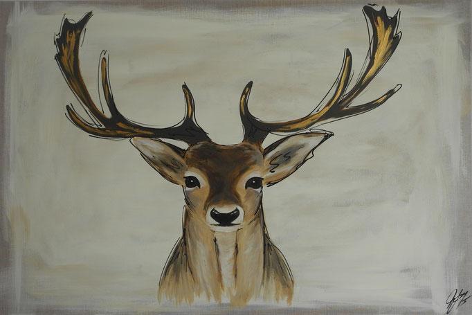 Gabriel, 2015 80 x 120 cm (verkauft)