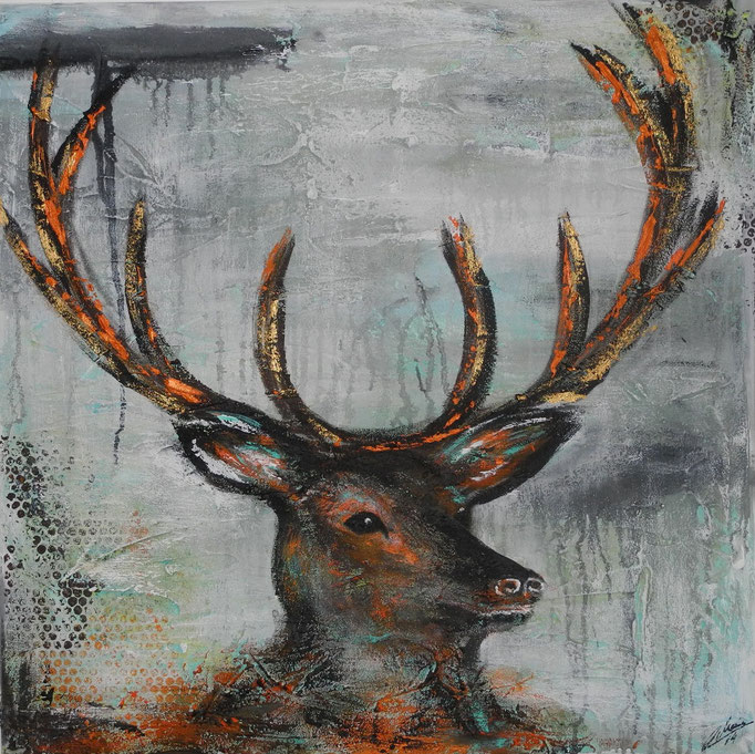 Xaverl, 2014 80 x 80 cm (verkauft)