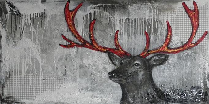 Antonius, 2015 80 x 160 cm (verkauft)