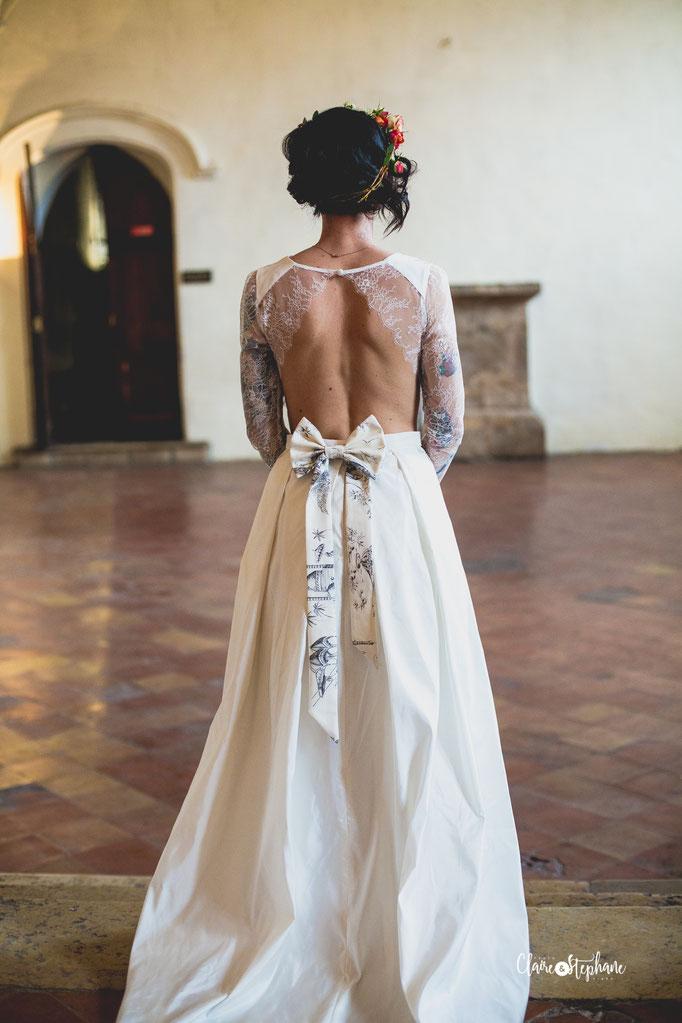 Robe de mariée intemporelle