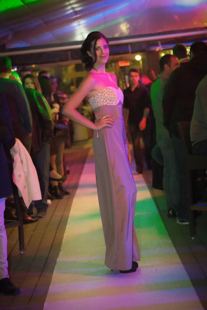 robe de soirée longue empire