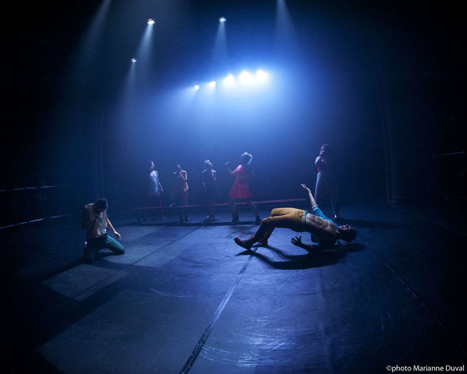 #Pigeons Affamés - Théâtre du Trillium  -  Marianne Duval Photographe - 2015
