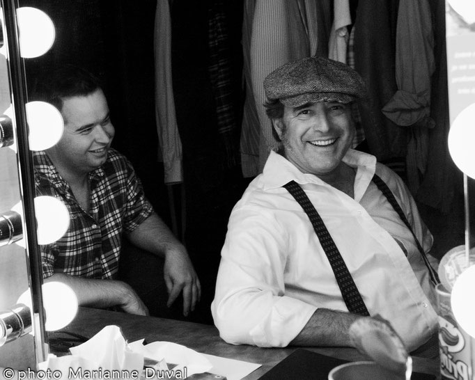 Patrick Potvin & André St-Onge - Les Outardes-Théâtre de l'Îles - Photographe: Marianne Duval