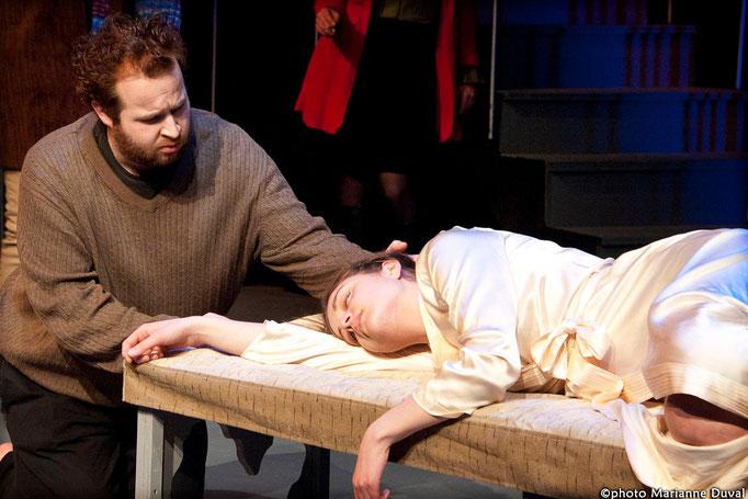 Patrick Potvin, Alex Beraldin - Le Temps et la chambre - Université d'Ottawa - Photo Théâtre Marianne Duval