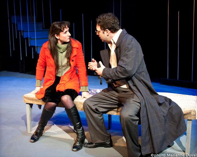 Chloé Tremblay, Nicolas Tremblay-Foisy- Le Temps et la chambre - Université d'Ottawa - Photo Théâtre Marianne Duval