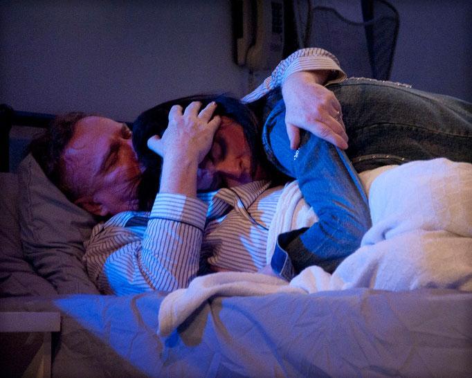 Richard Bénard, Marie-Eve Fortier - L'amour est aveugle - Théâtre de l'Île - Photo Marianne Duval