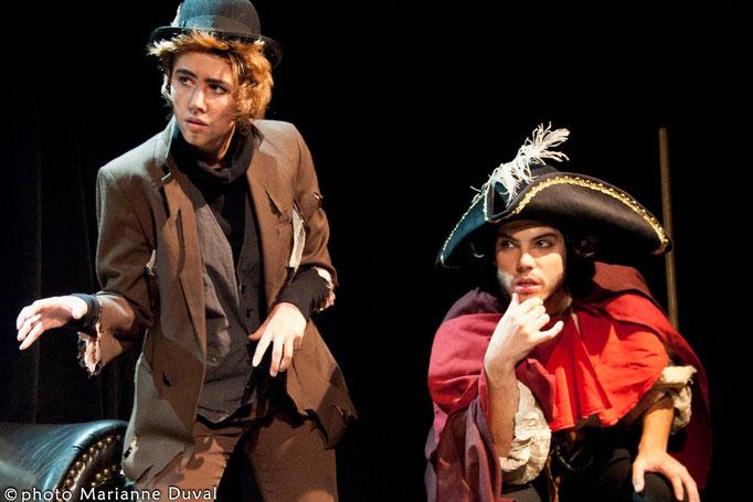 Jennifer Turgeon Charest, Alexandre-David Gagnon - Les z'aventures de zozote - Théâtre de Dehors- Photo Théâtre Marianne Duval