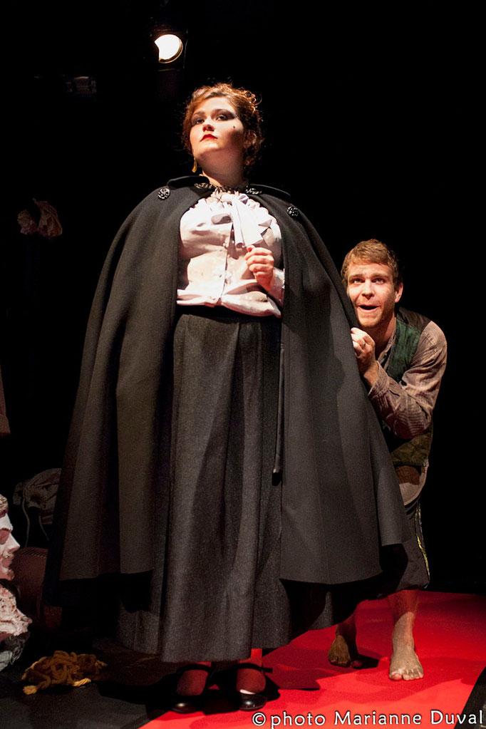 Lissa Léger, Jonathan Charlebois - Les z'aventures de zozote - Théâtre de Dehors- Photo Théâtre Marianne Duval