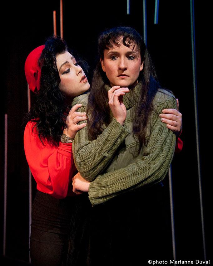 Virginie Houët, Chloé Tremblay - Le Temps et la chambre - Université d'Ottawa - Photo Théâtre Marianne Duval