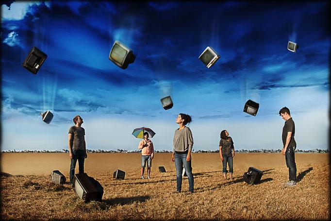Quelques humains - Photo d'affiche- Théâtre Belvédère - 2012 - Marianne Duval Photographe