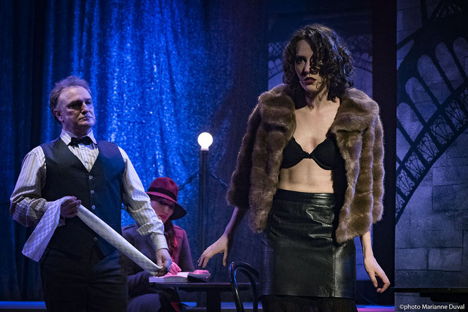 Cabaret Oh la la ! - Théâtre de l'Île - Marianne Duval Photographe -2016