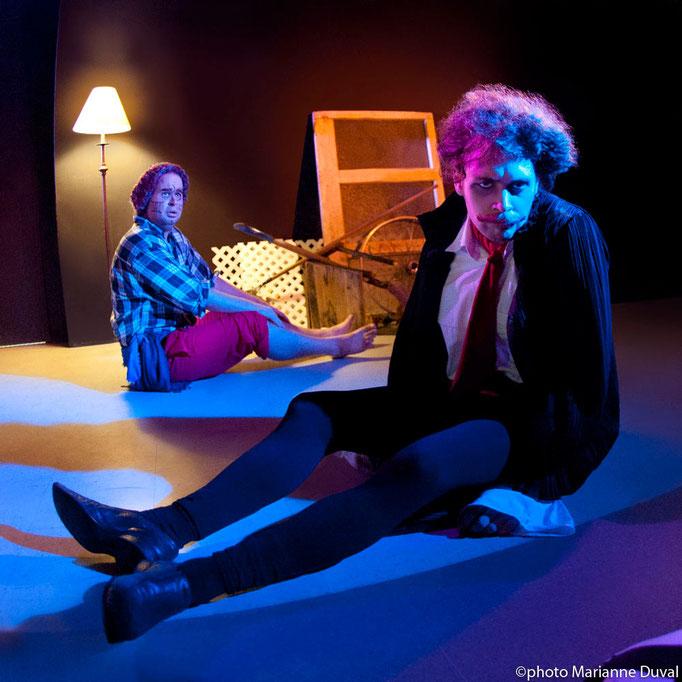 Patrick Potvin, Dillon Orr - Monstres sans soucis - Théâtre de Dehors - Photo Théâtre Marianne Duval