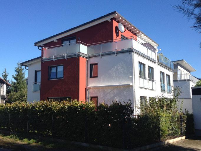 DH in moderner Pultdach-Architektur, München Moosach