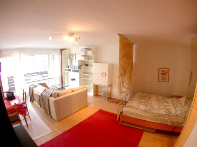 Möbliertes 1-Zimmer-Appartement, München Schwabing