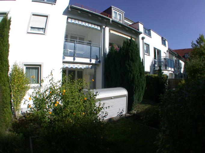 3-Zimmer-Garten-Wohnung, Moosach