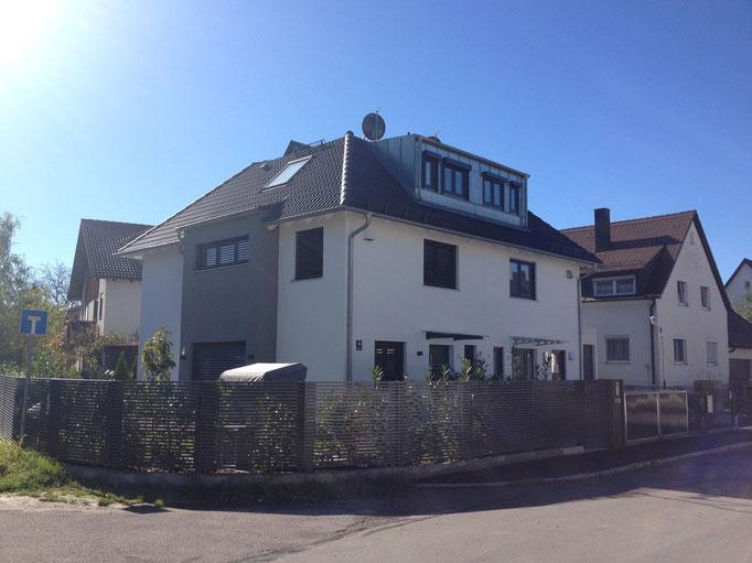 Design-Doppelhaus, München Moosach