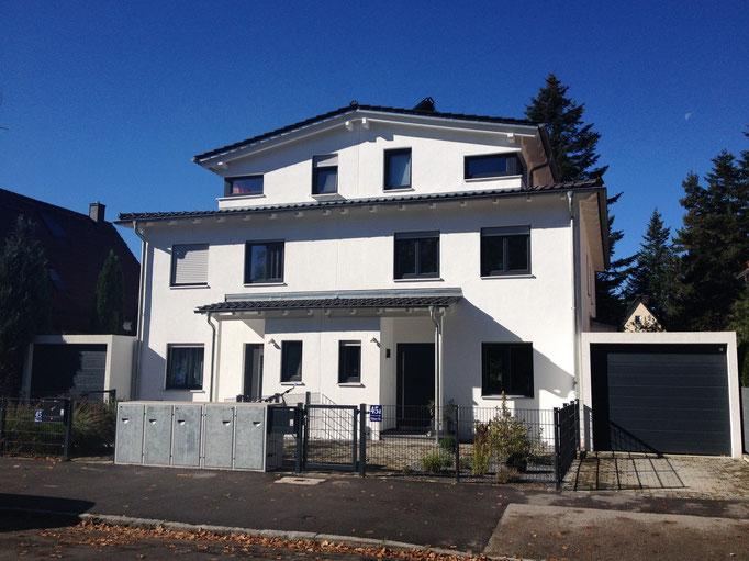 Doppelhaus mit großer Dachterrasse, München Moosach