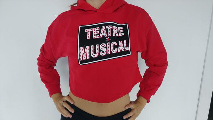 sudadera curta teatre musical