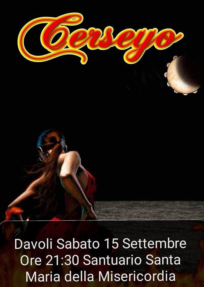 Sabato 15 Settembre Cerseyo in concerto