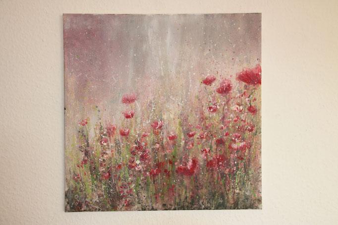 50  x 50 cm Acryl auf Leinwand