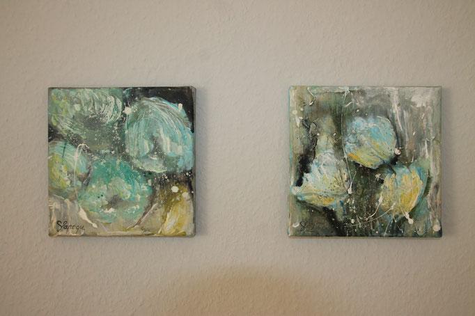 20 x 20 cm Acryl auf Leinwand
