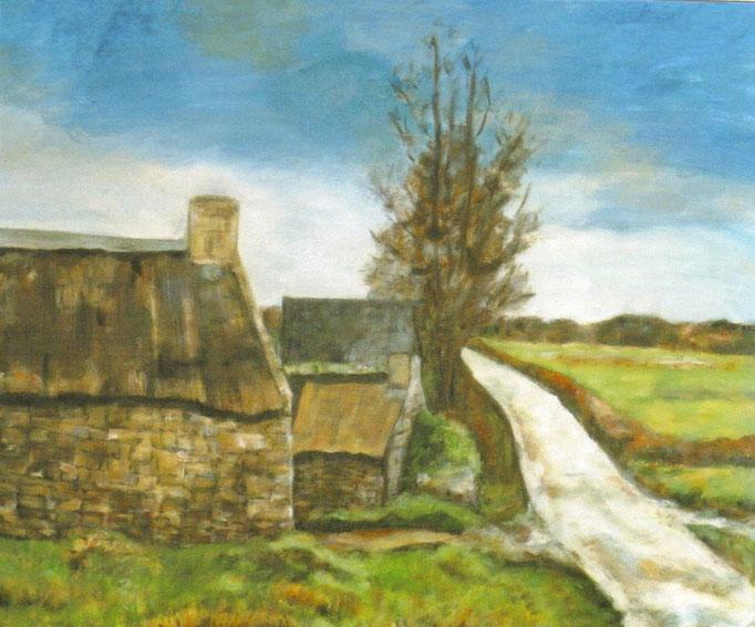 Campagne bretonne - 50x60 - 2007