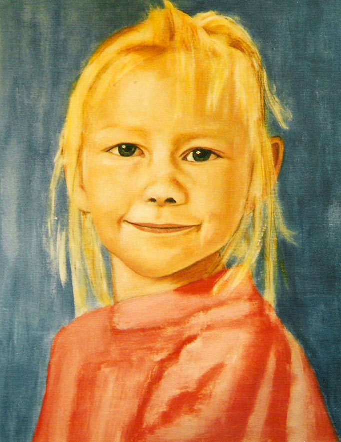 Fille Cecilia - 40x40 - 2004