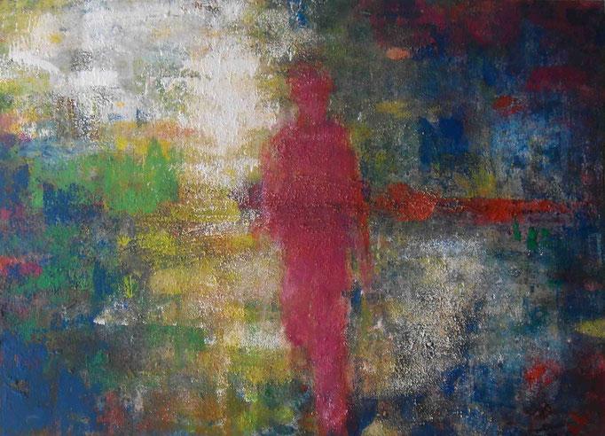 Course colorée - 50x70 - 2013