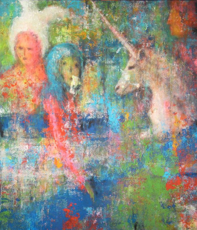 Licorne et biscor-nues - 140x120 - 2014